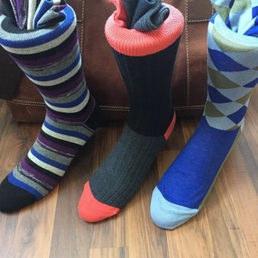 Don't wear boring socks all the time
