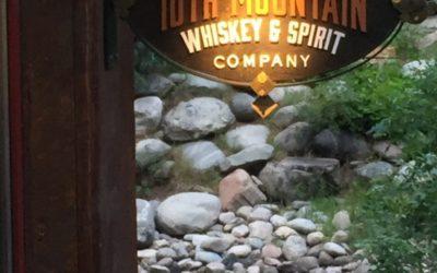 10th Mountain Whiskey & Spirit Company Tasting