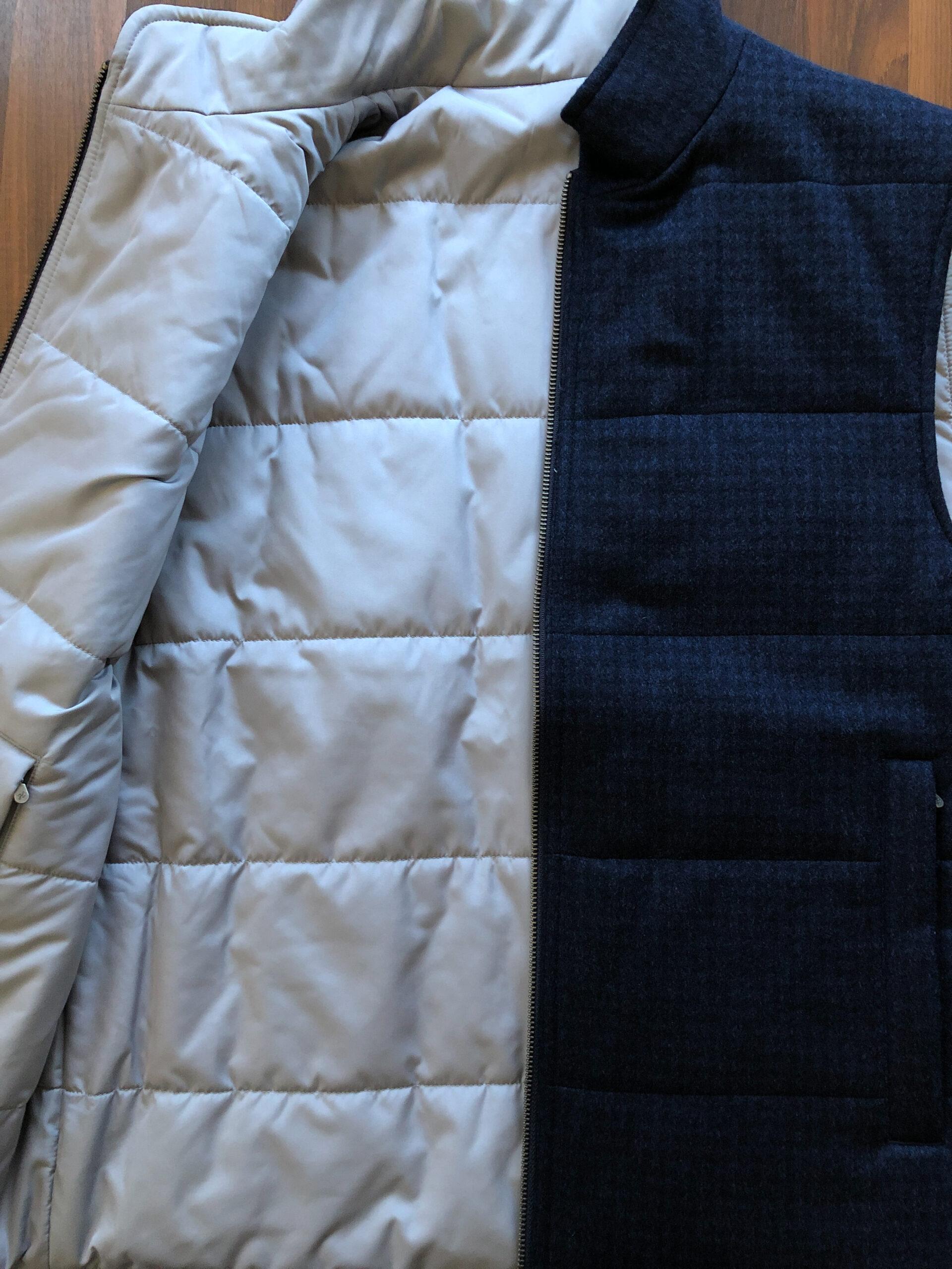 custom outerwear vest